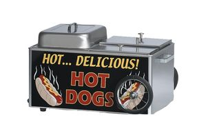HOT DOG Steamer Cart 1200 W