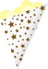 Kornout papírový STAR MAXI hnědý