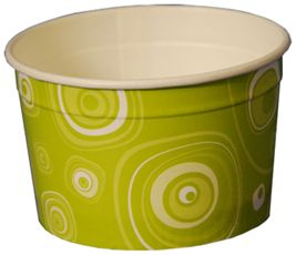 Papírový pohár na oříšky 95 ml
