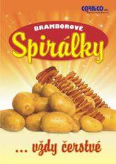 Plakát Bramborové Spirálky A3