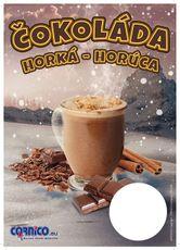 Plakát Horká Čokoláda A4 ceník
