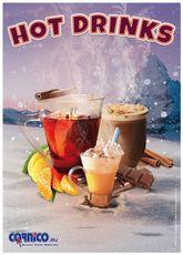 Plakát Hot Drinks A2