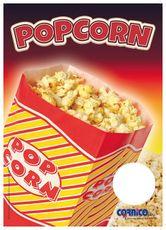 Plakát Popcorn bag A4
