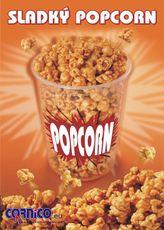 Plakát Sladký Popcorn A3