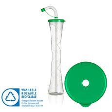 Pohár 400 ml PLAIN zelený 54 ks