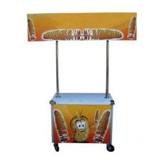 Pojízdný vozík BRAMBOROVÉ SPIRÁLKY