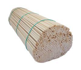 Špejle hranaté 30 cm × 4 mm dřevěné 500 ks