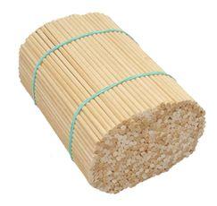 Špejle kulaté dřevěné 15 cm