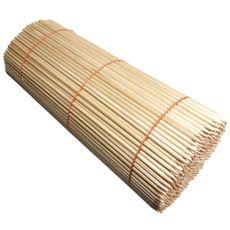 Špejle kulaté dřevěné s hrotem MAXI 45 cm