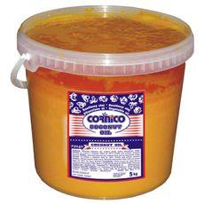 Tuk kokosový popcorn žlutý 5 kg