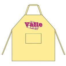 Zástěra Vafle žlutá