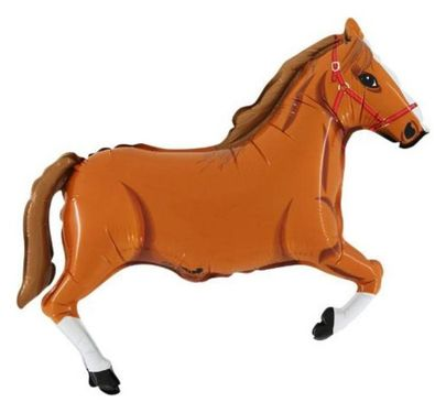 BalMT Kůň Hnědý 10 ks
