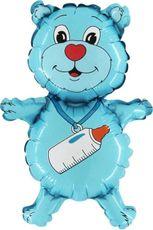 BalMT Medvídek modrý 10 ks