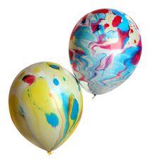 Balónek mramorový MIX barev
