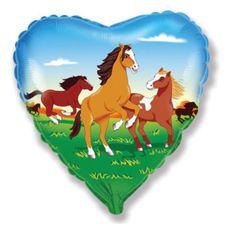 BalVS Velké srdce koně 1 ks