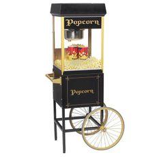 Euro Pop 8 oz Black & Gold s vozíkem