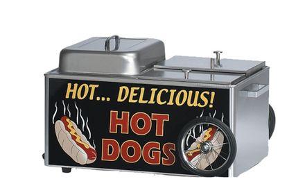 HOT DOG Steamer Cart 1200 W