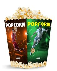 Krabička 3,0 L popcorn MIDI Sport