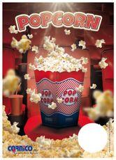 Plakát Popcorn box A4
