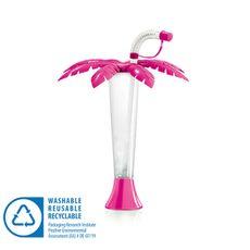 Pohár 250 ml PALMA růžová 108 ks