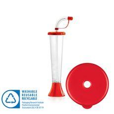 Pohár 250 ml PLAIN červený 108 ks