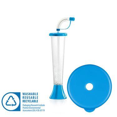 Pohár 250 ml PLAIN modrý 108 ks