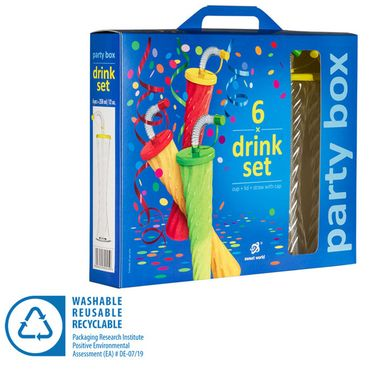Pohár 350 ml PLAIN PARTY BOX 6 ks