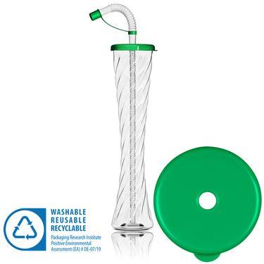 Pohár 350 ml PLAIN zelený 54 ks