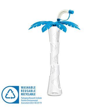 Pohár 400 ml PALMA modrá 54 ks