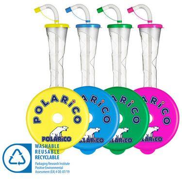 Pohár 400 ml PLAIN POLARiCO mix 54 ks