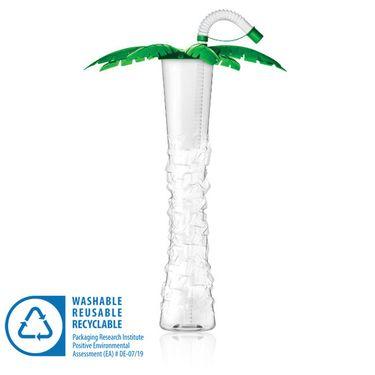 Pohár 500 ml PALMA zelená 54 ks