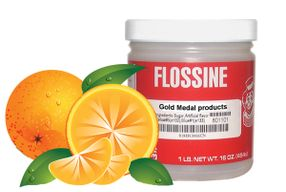 Příchuť Flossine Pomeranč 454 g