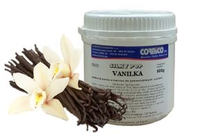 Příchuť Silky Pop Vanilka 500 g