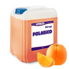 Sirup POLARiCO Pomeranč 5 L (1:5)